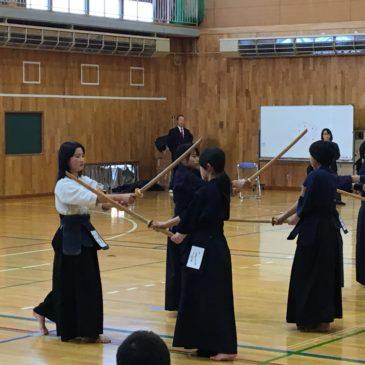 平成28年度長野県剣道連盟更埴支部第2回級位審査会
