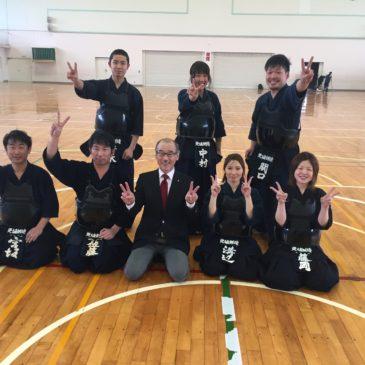 第9回長野県剣道連盟支部対抗剣道大会