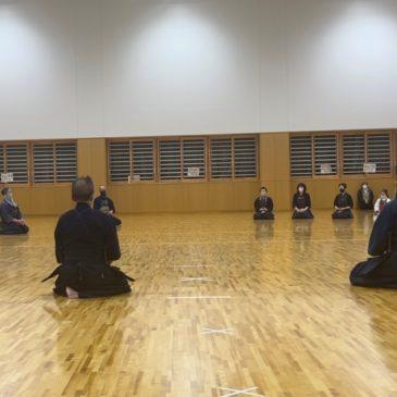2/26稽古@ことぶきアリーナ千曲